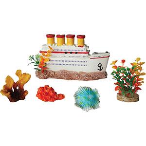 AQ 5 Piece Decorative Aquarium Box Set AQ28022