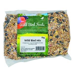GD Wild Bird Mixed Seed 1kg 1641