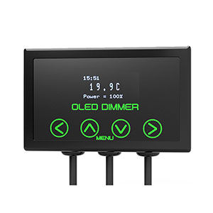 Microclimate OLED Dimmer Black 600W