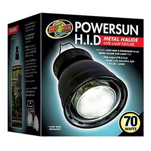 ZM Powersun HID Metal Halide Fixture 70W LF-95UK