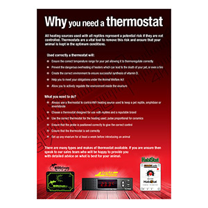 PL A3 Poster;Why You Need A Thermostat