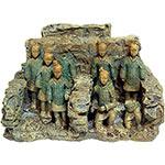 AQ Asian Terracotta Soldiers 18.5x7x12cm AQ96145