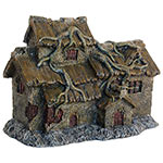 AQ House with Roots 28 x 12 x 20.5cm AQ28337