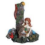 AQ Mermaid with Treasure Chest 16x12x19cm AQ28112