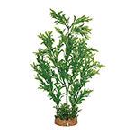 AQ Plant wth A/stone Base 8.3cm(base)x42cm AQ19029