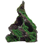 AQ Rock with Moss 12 x 10 x 17cm AQ62573