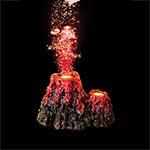 AQ Super Underwater Volcano 18.5x14x11cm AQ28935