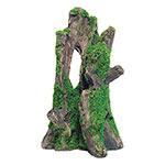 AQ Tree Stump with Moss 12.5 x 10 x 20.5cm AQ62569