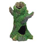 AQ Tree Stump with Moss 16 x 13 x 23.5 AQ62570