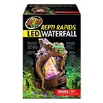 ZM ReptiRap.LED Waterfall Sml Wood RR-22