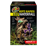 ZM ReptiRap.LED Waterfall Med Wood RR-24