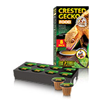 ET Crested Gecko Food 8 pack ready to serve PT3260