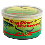 LR Herp Diner Mealworms +Calcium, HDC-32