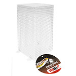PR Ceramic Heater Guard, White. HCG057