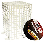 PR Spot Bulb Guard, White. HCG065