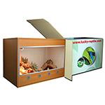 *LR Terrarium Basis Set 80x50x50 cm Beech