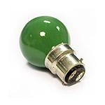 Green Golfball Bulb 25W BC (Bayonet)