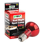 PR Red Night Spotlamp 60W ES