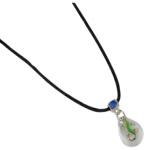 Blue Bug UV Mood Necklace, Gecko, pink