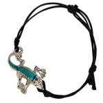 Blue Bug Mood Bracelet, Gecko
