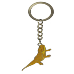 Blue Bug Metal Keyring, Bearded Dragon