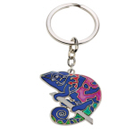 Blue Bug Mood Keyring, Chameleon