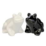 Blue Bug Salt and Pepper Pots, Frogs