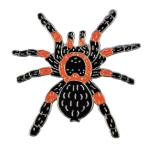 Blue Bug Pin Badge, Tarantula