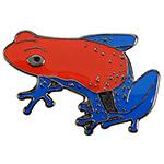 Blue Bug Pin Badge, Pumilio
