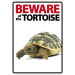 Beware Sign: Tortoise