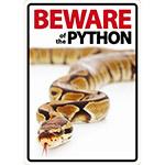 Beware Sign: Python