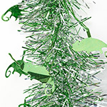 Tinsel Chameleon 2m silver/green chams