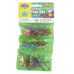 WR Plastic Toys Playset: Lizards (12)