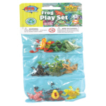 WR Plastic Toys Playset: Frogs (12)