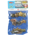 WR Plastic Toys Playset: Turtles (12)