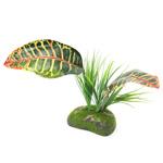 PR Artificial Tropical Croton Plant, 30cm