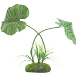 PR Artificial Philodendron maximum Plant, 45cm
