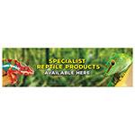 Header Board; Specialist Reptile Prod. 300x1000mm