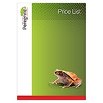 Peregrine Livefoods NEW Price List