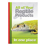 PL A3 Poster: All your Reptile Products