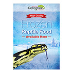 PL A3 Poster: Frozen Reptile Food Avail.