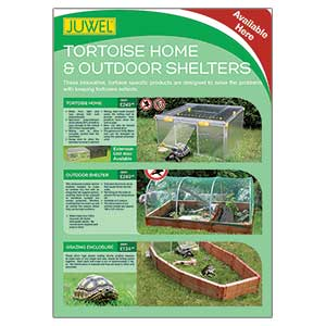 PL A3 Poster; Juwel Tortoise Products