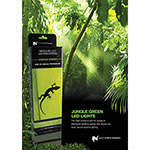WP Jungle Green LED Poster
