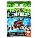 ZM Aquatic River Pebbles 9Kg Bag,