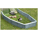 Juwel grazing enclosure (Basalt/Grey)