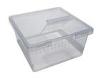 PL Square Container w/Flip Lid 7oz x 25