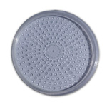 Round Deli Cup LID 2mm Vent Holes (500 Box)