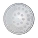 Round Deli Cup LID Poly Fibre Vent Holes (500 Box)