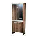 VE Cabinet Small Walnut PT4036