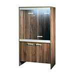 VE Cabinet Medium Walnut PT4039